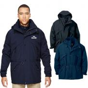 promotional north end adult 3-in-1 parka with dobby trim