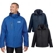 promotional north end mens caprice 3-in-1 jacket with soft shell liner