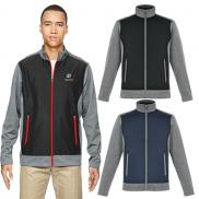 promotional north end mens victory hybrid performance jacket