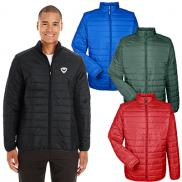 promotional core 365 mens prevail packable puffer jacket