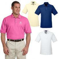 29628 - Devon & Jones Men's Pima Pique Short-Sleeve Polo