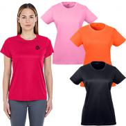 promotional ultraclub ladies cool & dry sport performance t-shirt