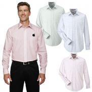 promotional devon & jones mens micro tattersall shirt