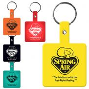 promotional flexible key tags (square)