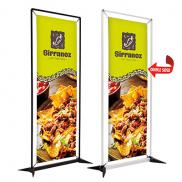 promotional 3 frameworx double sided banner display kit