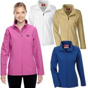 promotional team 365 ladies leader soft shell jacket