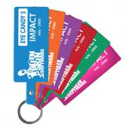 promotional flexible key tags (rectangle)