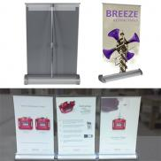 promotional breeze 2 retractable banner stand