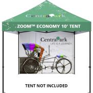 promotional full wall for 10 popup tent