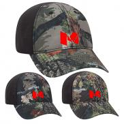 promotional camouflage six panel low profile style cap