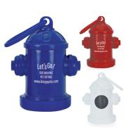 promotional doggy pal hydrant bag holder