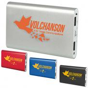 promotional aluminum power bank 8000 mah