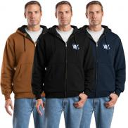 promotional cornerstone® - full-zip hooded sweatshirt
