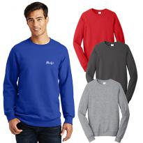 30399 - Port & Company® Fan Favorite™ Fleece Crewneck Sweatshirt