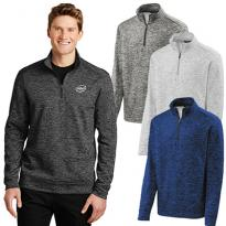 30404 - Sport-Tek® PosiCharge® Electric Heather Fleece 1/4-Zip Pullover