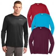 promotional sport-tek® long sleeve posicharge® competitor™ tee