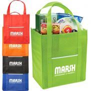 promotional riptide non-woven grocery tote