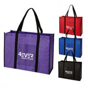 promotional quilted non-woven tote