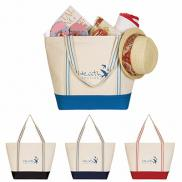 promotional cotton travel tote