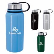 promotional 34 oz. mountain vacuum stainless-steel bottle