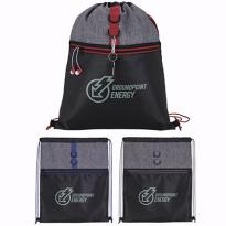 30709 - Stand Alone Drawstring Backpack