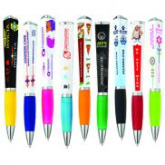 promotional triangular ad pen