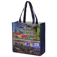 "promotional 13"" x 13 grocery shopping tote bags"