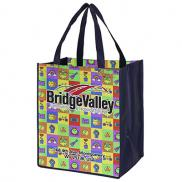 "promotional 13"" x 15"" grocery shopping tote bags"