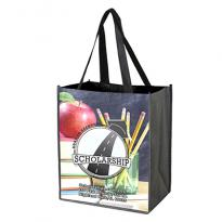 "30780 - 12"" x 13"" Glossy Lamination Grocery Shopping Tote Bags"