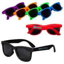 30849 - Youth Single-Tone Matte Sunglasses
