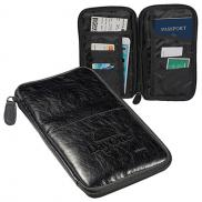 promotional sorrento™ rfid travel pouch