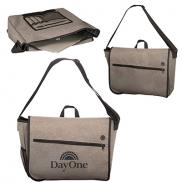 promotional strand messenger with laptop sleeve