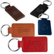 promotional tuscany™ rectangle key ring