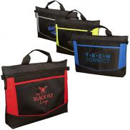 promotional go-fer lightweight polyester briefcase