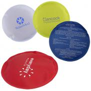 promotional round nylon covered gel hot/cold pack