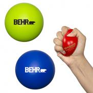 promotional round super squish stress reliever