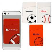 promotional sport theme silicone pocket