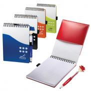 promotional two-tone jotter with moptoppers® stylus pen