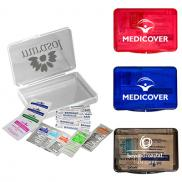 promotional first aid kit in plastic box