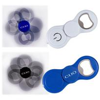 30953 - Spinner Bottle Opener with LED Light