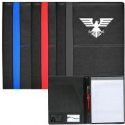 promotional rodeo stitched pvc standard size padfolio