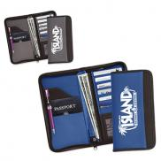 promotional zippered vylon document case