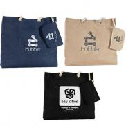 promotional jute resort tote