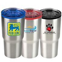 31087 - 20 oz. Color Splash Stainless Steel Economy Tumbler