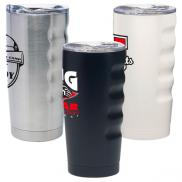 promotional 20 oz. grip stainless vacuum tumbler (full color)
