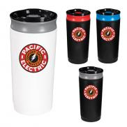 promotional 16 oz. coffee press - full color