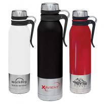 31116 - 25 oz. Clip-On Stainless Steel Vacuum Bottle