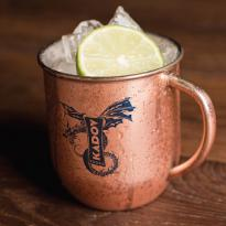 31146 - 17 oz Mosconi Copper Plated Moscow Mule Mug