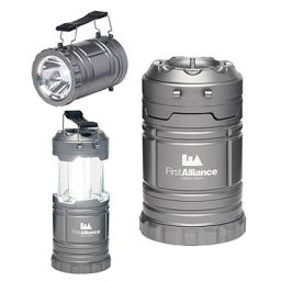 Retractable Flashlight and Lantern