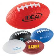 promotional 3-1/2 football stress reliever